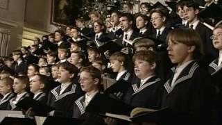 "Thomanerchor:  ""Jauchzet frohlocket"" by Johann Sebastian Bach"