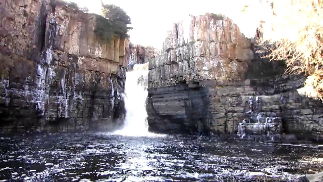 High force waterfall upper teesdale county durham england uk 3 high force waterfall upper teesdale county durham england uk 32010 youtube ccuart Image collections