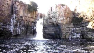 High Force Waterfall, Upper Teesdale, County Durham, England, UK, 3/2010
