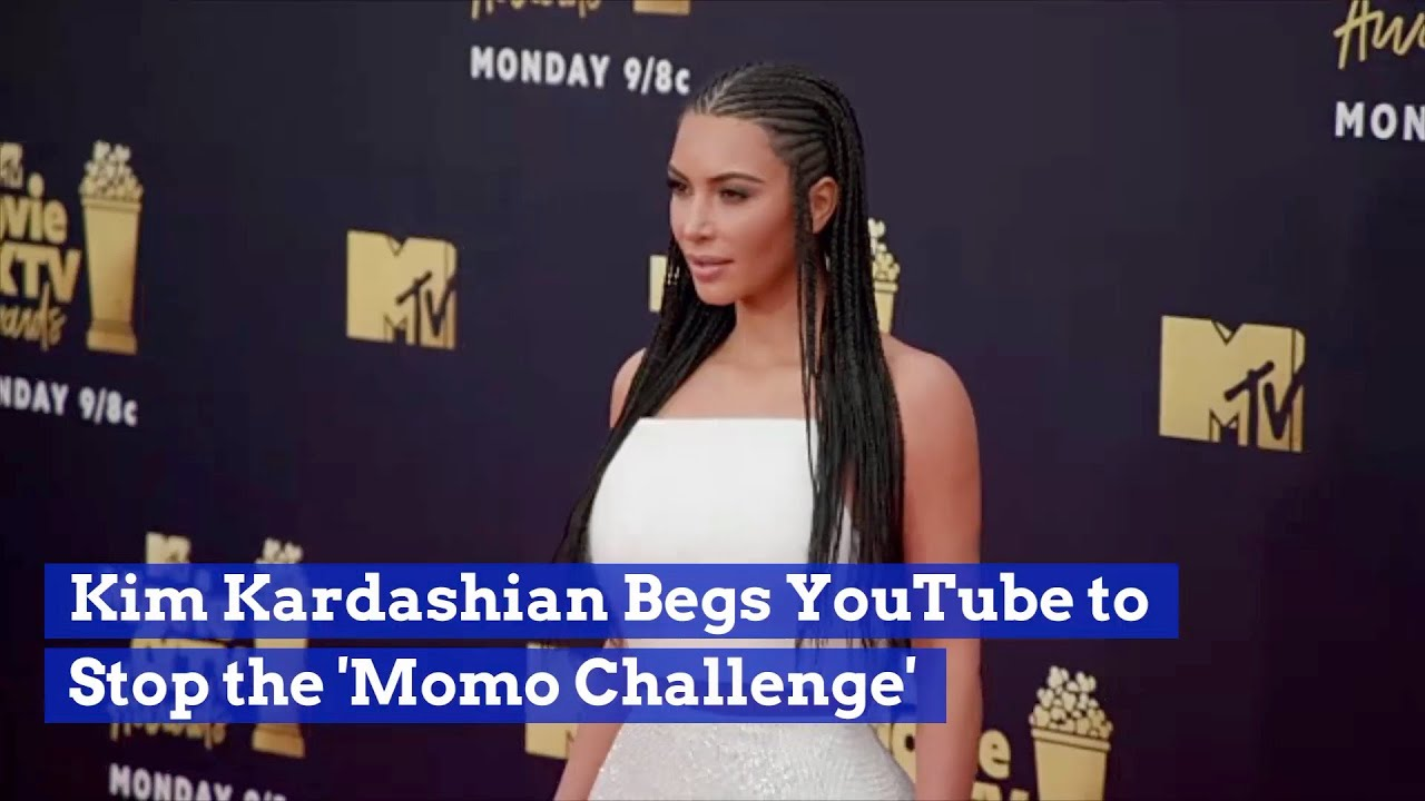 Kim Kardashian Asks YouTube To Immediately Stop 'Momo Challenge' Images  #Trend