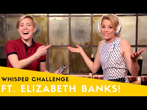 WHISPER CHALLENGE ft. ELIZABETH BANKS!