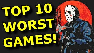 TOP 10 WORST Horror Games!