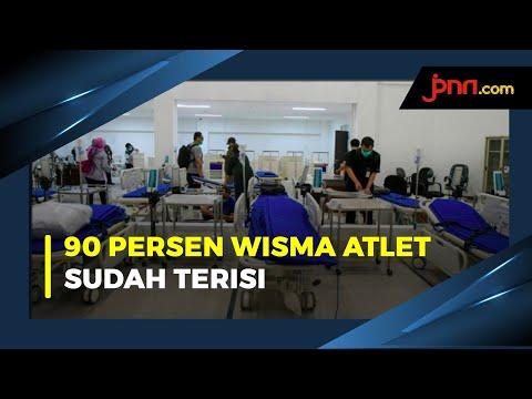 RSD Wisma Atlet Buka Tower 8 Untuk Pasien Covid-19 Tanpa Gejala