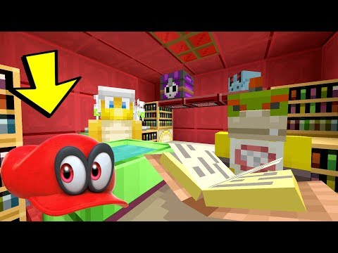 Minecraft Switch - Nintendo Fun House - Mario Odyssey Cappy Pranks! [GONE WRONG] 183]