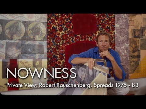 Private View: Robert Rauschenberg