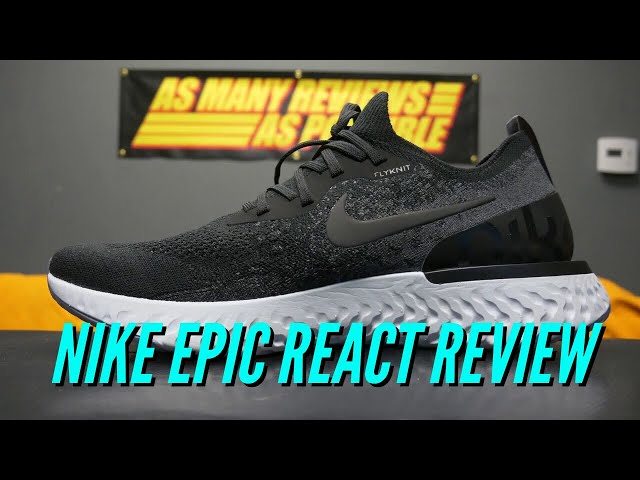 competitive price dd3a8 0884e Nike Epic REACT Flyknit Video Review  As Many Reviews As Possible