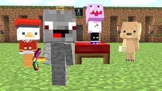 Lustige 2 gegen 2 Baby Runde mit vielen Trolls 😂👍 in Minecraft Lucky Block Bedwars