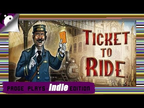 Padge Plays! Indie Edition - Ticket To Ride (2012 - Days Of Wonder) Digital Board Game Gameplay