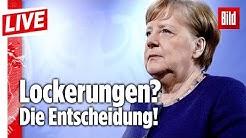 🔴 Merkel verkündet heute Entscheidung: Diese Maßnahmen werden gelockert | BILD Live vom 6.5.2020