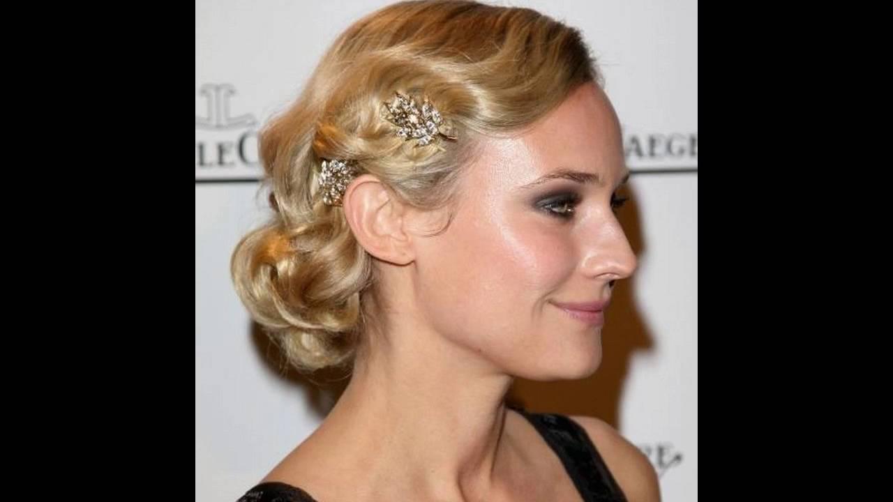 la dama de honor peinados para el pelo corto