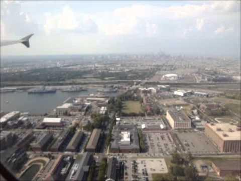 American Flight 481 [N584UW] Takeoff Denver And Landing Philadelphia 8/17/15