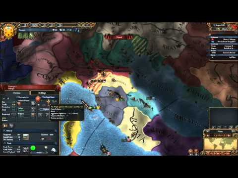 """Lets play Europa Universalis 4 - Tuscany """"First steps to Global power"""" EP1"""