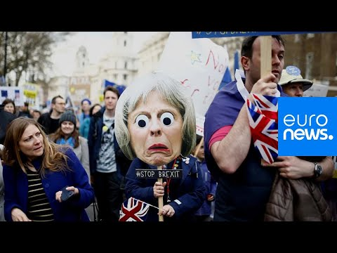 The best placards from Saturday's anti-Brexit march in London