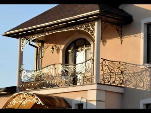 Перила 102  Кованое балконное ограждение Днепр фото ограждение для балкона в частном доме Днепр
