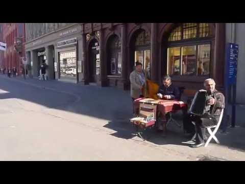 Street Music In Basel, Switzerland