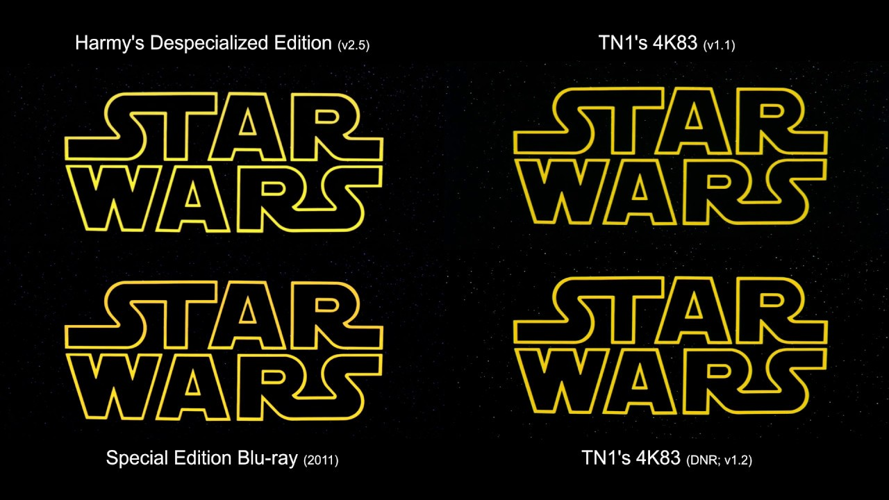 ORIGINAL Opening Scene | Return of the Jedi (1983) [4K83, Despecialized,  Blu-ray]