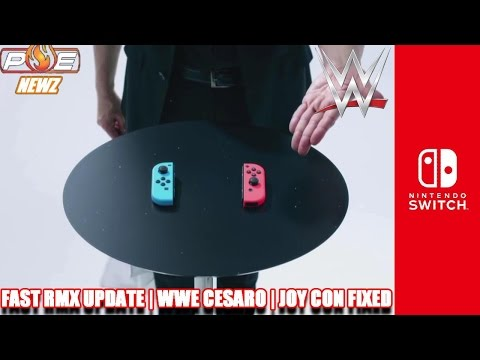 Nintendo Switch - Joy Cons Fixed at Factory Level, WWE Star Cesaro Buys Switch & MORE! | PE NewZ