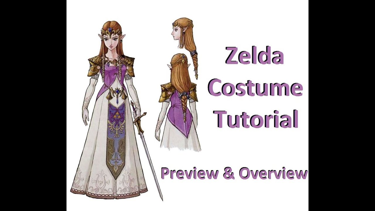 Zelda Twilight Princess Costume How To Tutorial: Preview - YouTube