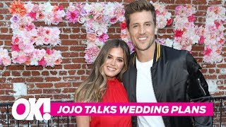 Finally Here! JoJo Fletcher SPILLS On Wedding Plans With Jordan Rodgers
