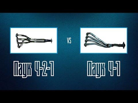 Паук 4-2-1 vs. Паук 4-1 сравнение по логам на распредвалах СТИ-4 - Смешные видео приколы