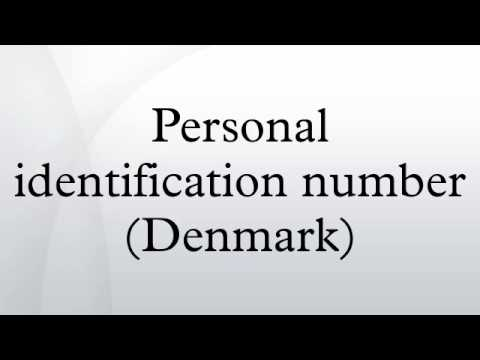 Personal identification number (Denmark)