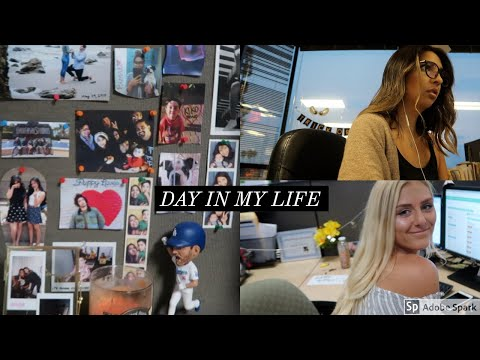 Day In The Life: Full-time Office Job