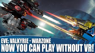 EVE: Valkyrie - Warzone | Huge Expansion Brings VR Space Fighter To PS4!