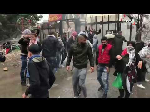 احتجاجات أمام السفارة الأميركية في لبنان