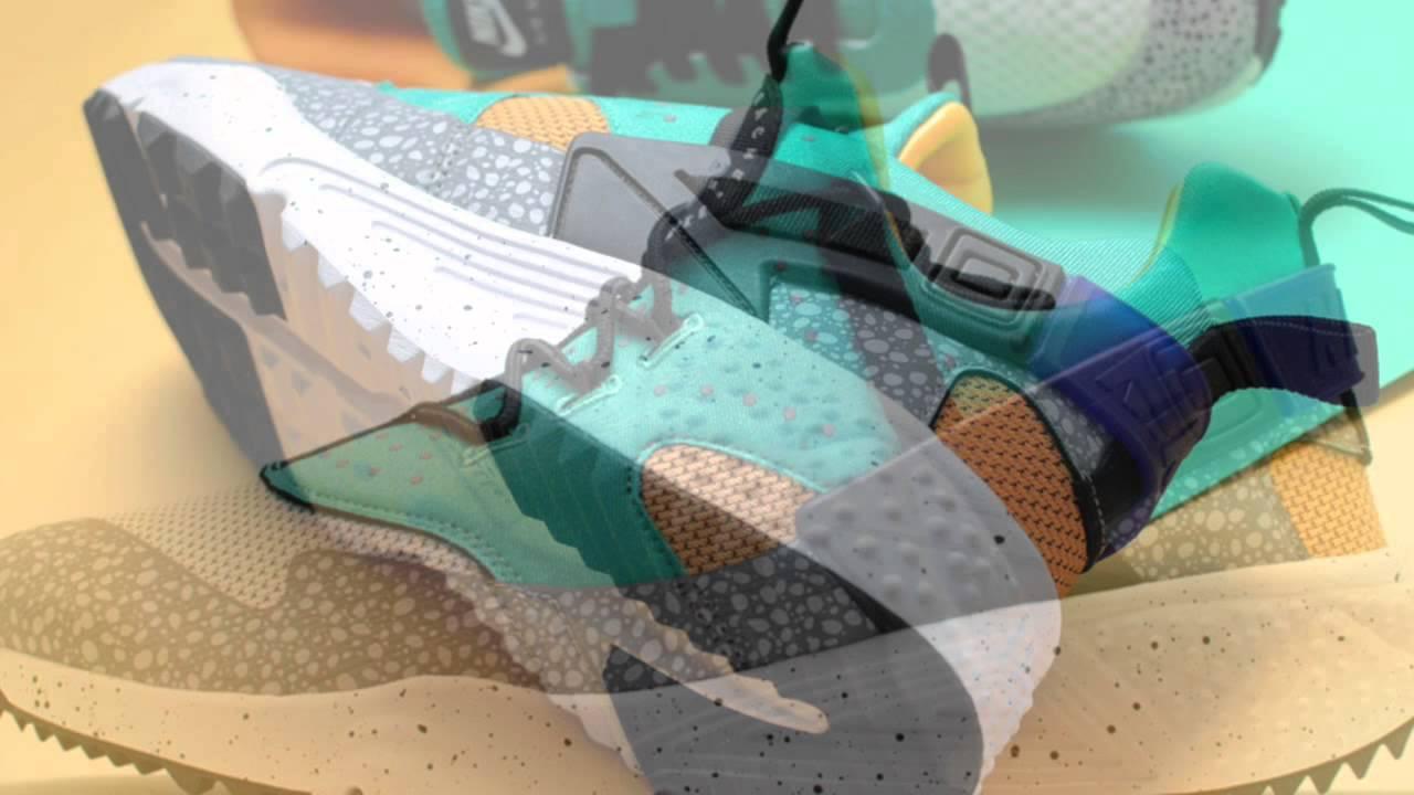 Nike mashed Air Max 1 und Air Huarache OG  