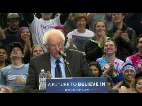 Bernie Sanders sweeps the Western Primary states in landslide elections