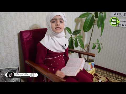 Məsumə Ağayeva 4-cü verililiş. Quran barədə danışır.