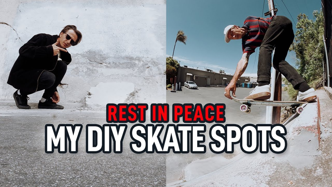 Should I Quit Building DIY Skate Spots?!