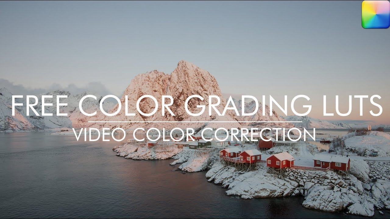 LUT Color Grading – Free Collection LUTs Color Grading for