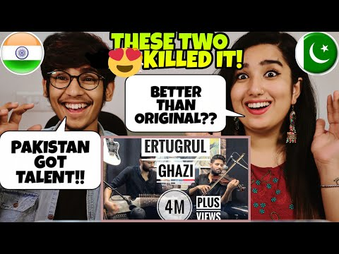 Indian Reaction On Ertugrul Ghazi Soundtrack  Leo Twins  The Quarantine Sessions