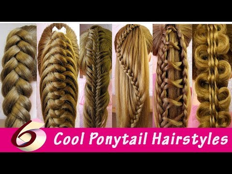 Cute Back To School Hairstyles | Ponytail Hairstyles | Queue de cheval originale (6 idées) thumbnail
