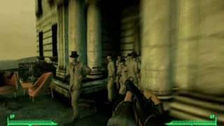 Fallout 3 - THE MATRIX: Agent Mr. Burke