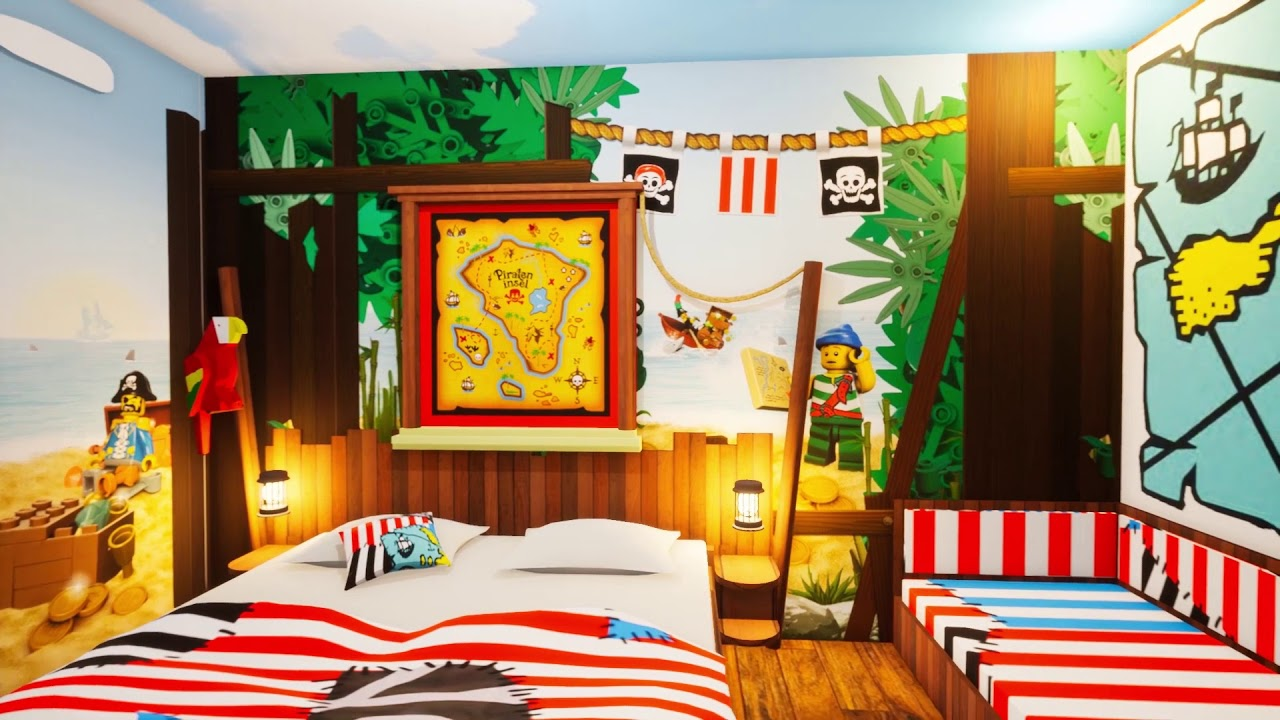 Legoland Pirateninsel Hotel Youtube