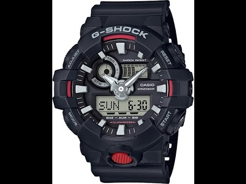 how to set a g shock watch 5522
