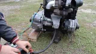 видео Нива дизель: установка двигателя своими руками