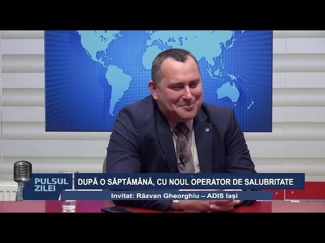 PULSUL ZILEI, 7 OCT 2019 -  DUPA O SAPTAMANA CU NOUL OPERATOR DE SALUBRITATE