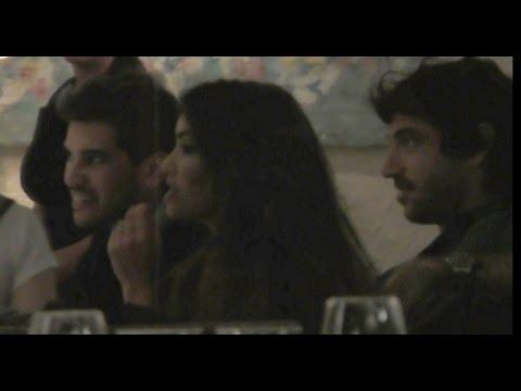 el novio de lali se camuflo para verla cantar en uruguay y se mostro muy carinoso