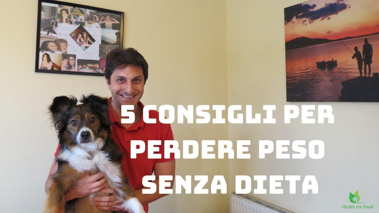 5 consigli per perdere peso
