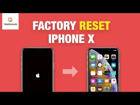 How to Reset iPhone X 2020