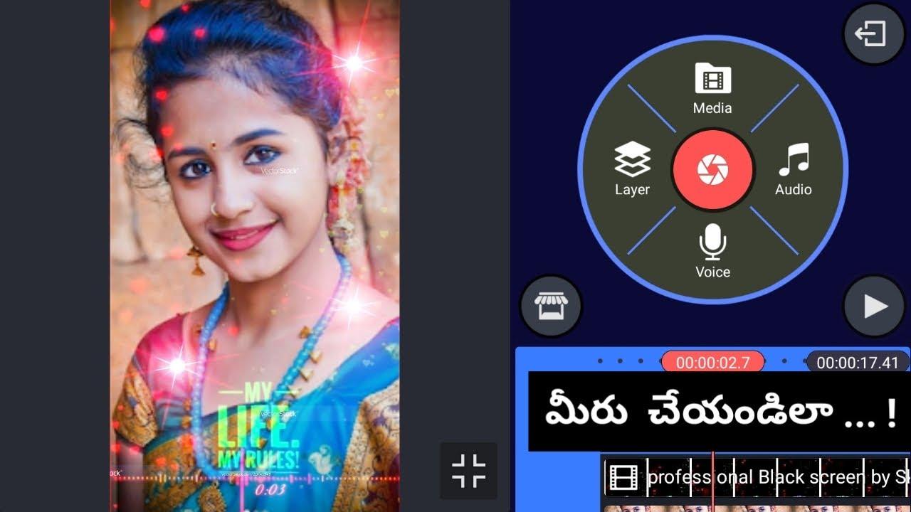 Whatsapp Status video editing మీరు చేయండిలా || tech in telugu