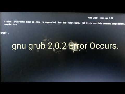 gnu grub version 2 02