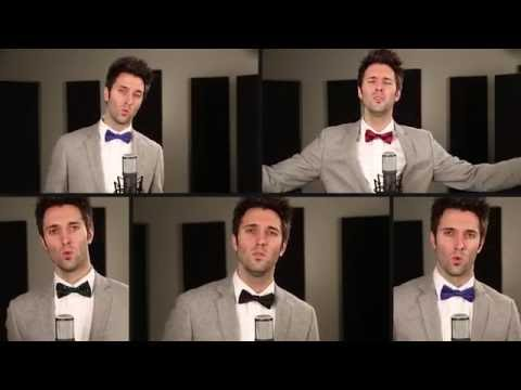 Acapella Christmas Medley  Greg Sykes Come All Ye Faithful