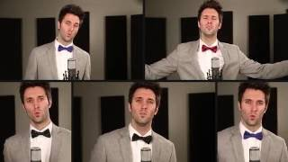 Acapella Christmas Medley - Greg Sykes (Come All Ye Faithful)