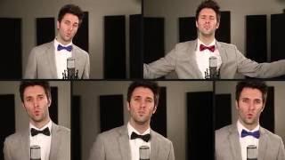 Acapella Christmas Medley - Greg Sykes (Come All Ye Faithful)