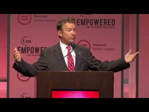 Rand Paul speaks at National Urban League conference