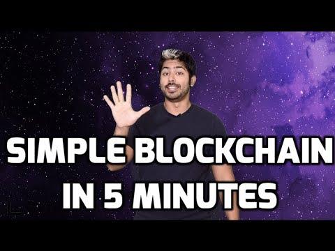 Simple Blockchain In 5 Minutes